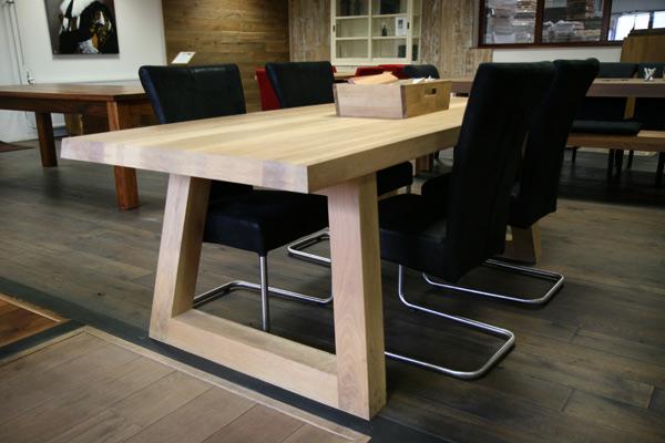 Houten tafels aanbiedingen massieve houten tafels